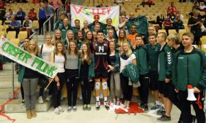 Volley landskamp i Slagelse