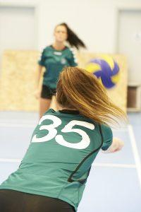 Skoleliga Volleystævne i begge haller